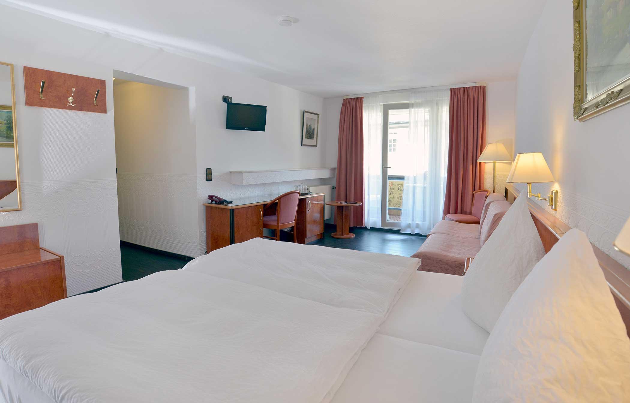 Doppelzimmer Superior des Hotel Zehnthof in Cochem