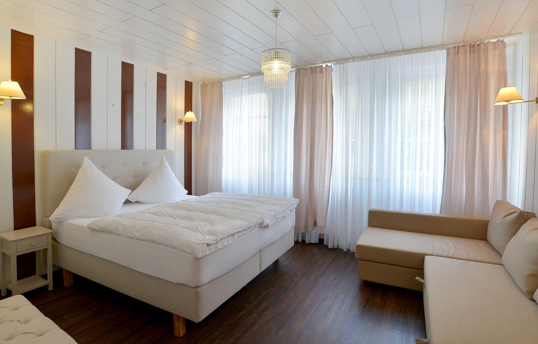 Einzelzimmer Komfort des Hotel Zehnthof in Cochem
