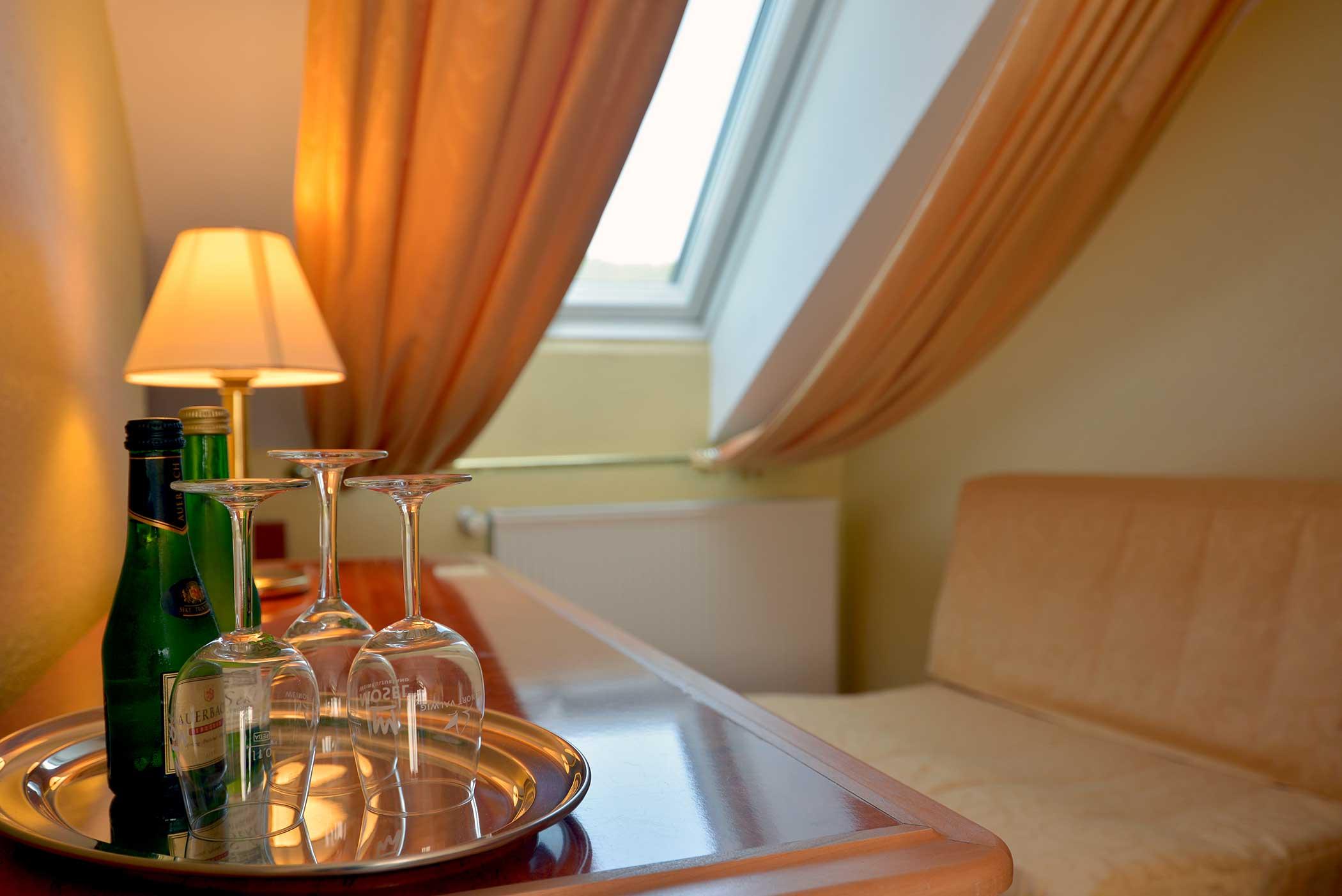 Familienzimmer des Hotel Zehnthof in Cochem