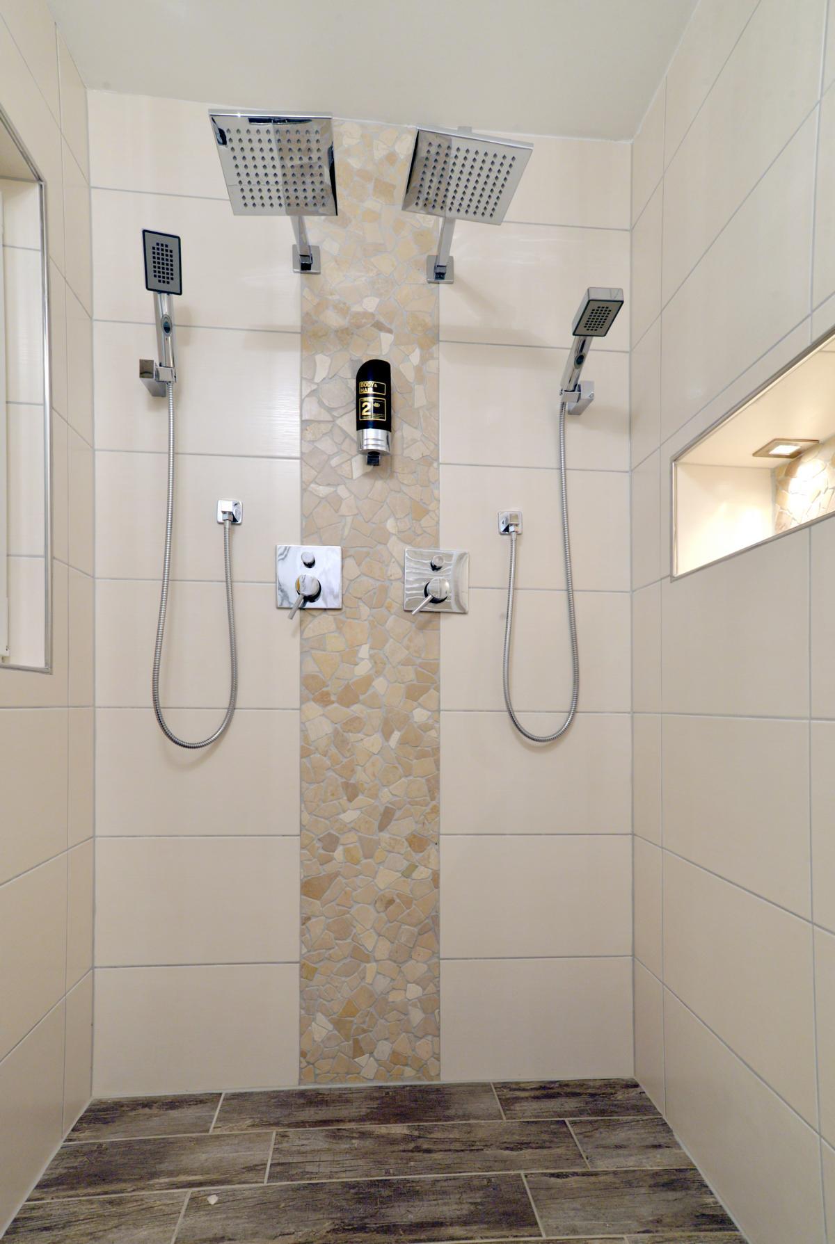 2 Personen Dusche